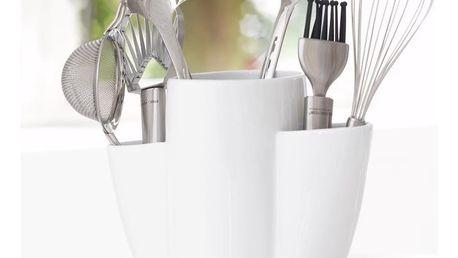 Porcelánový držák na kuchyňské nástroje Steel Function Roma