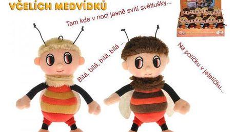 Příběhy včelích medvídků - Čmelda nebo Brumda s písničkami 15 cm