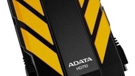 """Externí pevný disk 2,5"""" ADATA DashDrive Durable HD710 1TB žlutý (AHD710-1TU3-CYL)"""