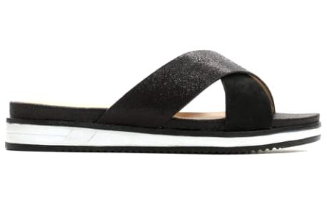Dámské černé pantofle Lee 1514