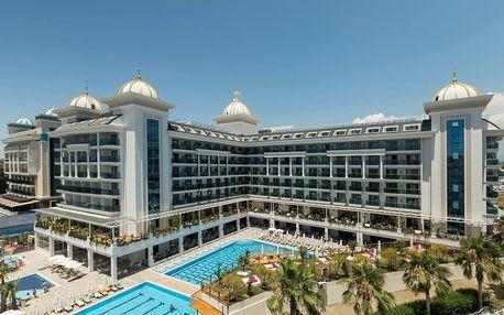 Turecko - Side na 8 až 12 dní, all inclusive s dopravou letecky z Prahy 300 m od pláže