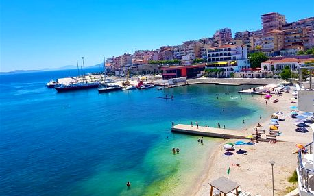 Albánie - Saranda na 8 dní, polopenze nebo snídaně s dopravou letecky z Prahy