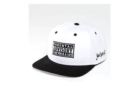 Who Shot Ya? / Snapback Cap Fkup in white Adjustable