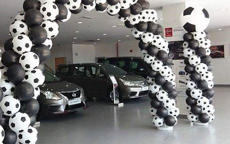 Fotbalové balónky na oslavy 100 ks