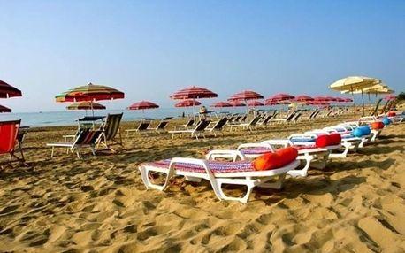 Itálie - Lido di Jesolo na 4 až 6 dní, snídaně nebo bez stravy s dopravou vlastní 50 m od pláže