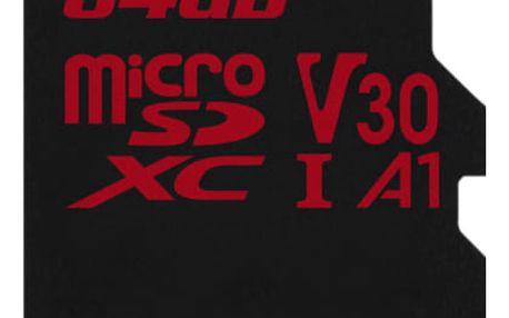 Paměťová karta Kingston Canvas React microSDXC 64GB UHS-I U3 (100R/80W) (SDCR/64GBSP)