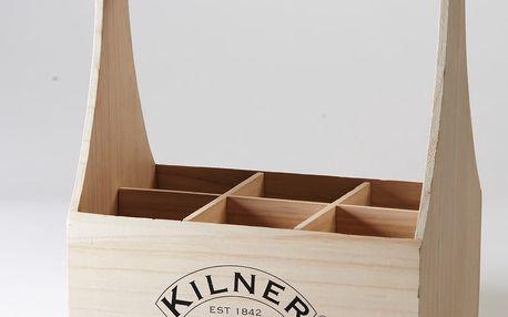 Dřevěná přepravka na 6 lahví Kilner