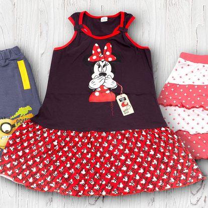 Připravte děti na léto: Kraťasy, sukně a šaty s oblíbenými postavičkami