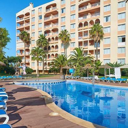 Španělsko - Mallorca na 8 až 9 dní, all inclusive s dopravou letecky z Prahy nebo Brna 350 m od pláže