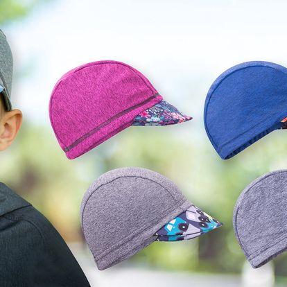 Dětské funkční čepice Unuo s kšiltem a UV 50+