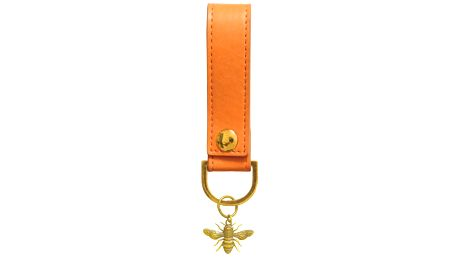 Oranžová klíčenka Portico Designs