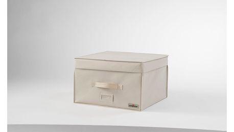 Světle béžový vakuový box Compactor, šířka42cm