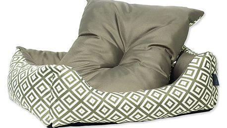 Sofa DOG FANTASY Etno hnědé 53 cm 1ks