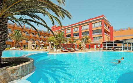 Kanárské ostrovy - Fuerteventura na 8 dní, plná penze nebo polopenze s dopravou letecky z Prahy 1000 m od pláže