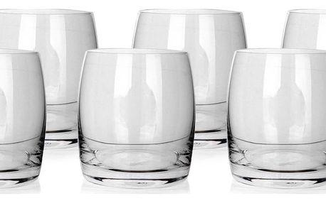 Banquet Crystal Sada sklenic na whisky Leona 280 ml, 6 ks