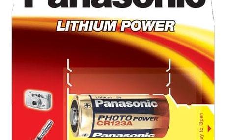 Baterie lithiová Panasonic CR123A