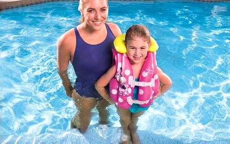 Dětská nafukovací plavecká vesta BESTWAY Minnie - 51 x 46 cm