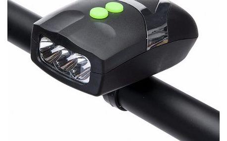 Univerzální LED světlo na kolo se zvonkem - dodání do 2 dnů