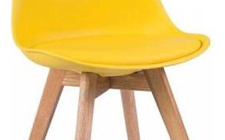 Žlutá židle loomi.design
