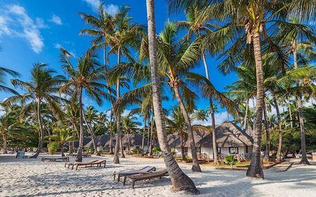 Zanzibar - Kiwengwa na 10 dní, all inclusive s dopravou letecky z Prahy přímo na pláži