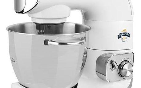 Kuchyňský robot ETA Gratus MAX 0028 90061 bílý + dárek Košík retro edice, velké kostky