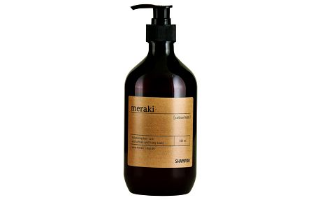 meraki Šampón Cotton Haze Volume, hnědá barva, čirá barva, plast