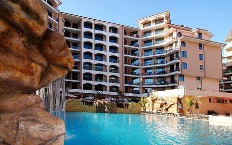Bulharsko - Slunečné Pobřeží na 4 až 9 dní, polopenze nebo snídaně s dopravou letecky z Ostravy nebo Prahy 250 m od pláže