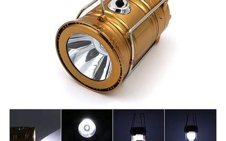 Přenosná LED dobíjecí ruční lampa