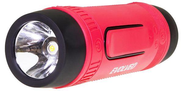 Přenosný reproduktor Evolveo XL3 (ARM-XL3-RED) černé/červené3