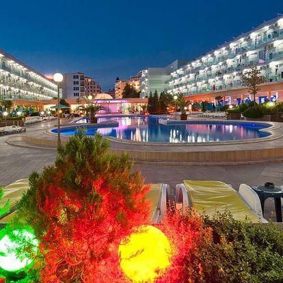 Bulharsko - Slunečné Pobřeží na 8 až 12 dní, all inclusive nebo snídaně s dopravou letecky z Prahy nebo Ostravy 250 m od pláže