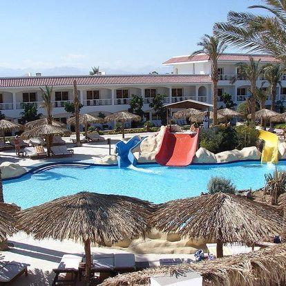 Egypt - Hurghada na 8 až 9 dní, all inclusive s dopravou letecky z Prahy nebo Brna 400 m od pláže