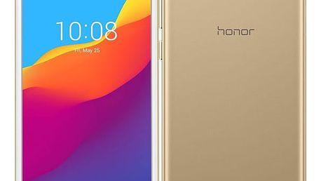 Mobilní telefon Honor 7S Dual SIM (51092QPG) zlatý Software F-Secure SAFE, 3 zařízení / 6 měsíců v hodnotě 979 Kč