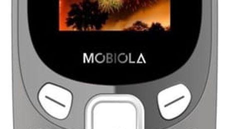 Mobilní telefon Mobiola MB3000 šedý (MB3000CZG)