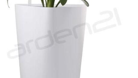 G21 Trio Samozavlažovací květináč bílý 56.5cm