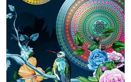 Plážová osuška s potiskem Muller Textiels Chachou, 100 x 180 cm
