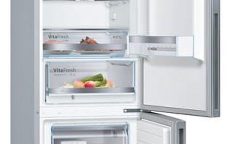 Chladnička s mrazničkou Bosch KGE39VL4A nerez