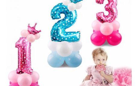 Obří fóliový balónek Číslo
