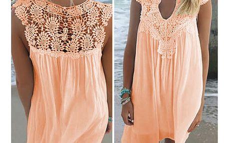 Dámské letní šaty plus size Joli - 3 barvy