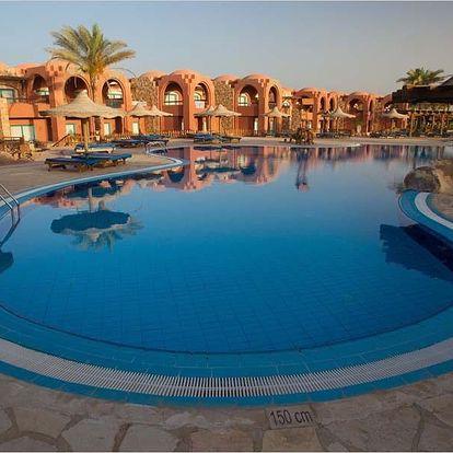 Egypt - Marsa Alam na 8 až 15 dní, all inclusive s dopravou letecky z Brna nebo Prahy přímo na pláži