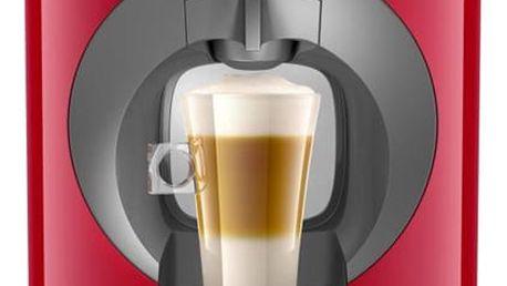 Espresso Krups NESCAFÉ Dolce Gusto Oblo KP110531 červené 2x Kapsle pro espressa Nescafé Dolce Gusto LATTÉ MACCHIATTO v hodnotě 109 Kč