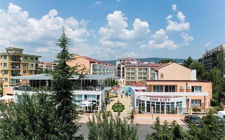 Bulharsko - Slunečné Pobřeží na 5 až 8 dní, all inclusive nebo polopenze s dopravou letecky z Prahy nebo Ostravy 450 m od pláže