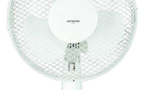Ventilátor stolní Orava SF-9 A bílý