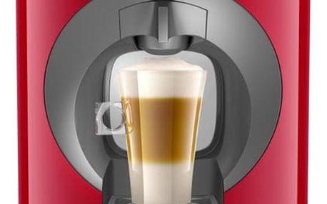 Espresso Krups NESCAFÉ Dolce Gusto Oblo KP110531 červené + dárek 2x Kapsle pro espressa Nescafé Dolce Gusto LATTÉ MACCHIATTO v hodnotě 109 Kč