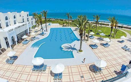 Tunisko - Djerba na 8 dní, all inclusive s dopravou letecky z Brna nebo Prahy přímo na pláži