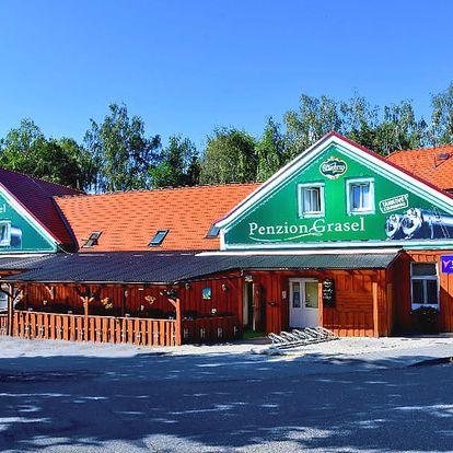 Relax na jižní Moravě v báječném penzionu poblíž Vranovské přehrady s wellness, polopenzí a slevami