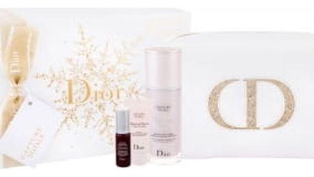 Christian Dior Capture Totale Dream Skin dárková kazeta proti vráskám pro ženy pleťové sérum 50 ml + pleťová maska 15 ml + pleťové sérum One Essential Skin Boosting 7 ml + kosmetická taška