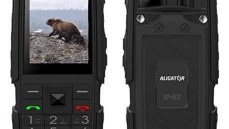 Mobilní telefon Aligator R20 eXtremo černý (AR20BB)
