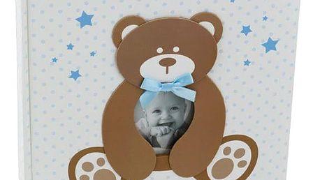 KARPEX Exkluzivní dětské samolepící fotoalbum 24x29/40s SWEETY, Modré
