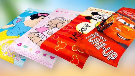 Dětské bavlněné osušky s oblíbenými postavičkami