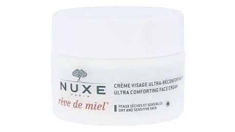 NUXE Rêve de Miel Ultra Comforting Face Cream 50 ml denní pleťový krém pro ženy